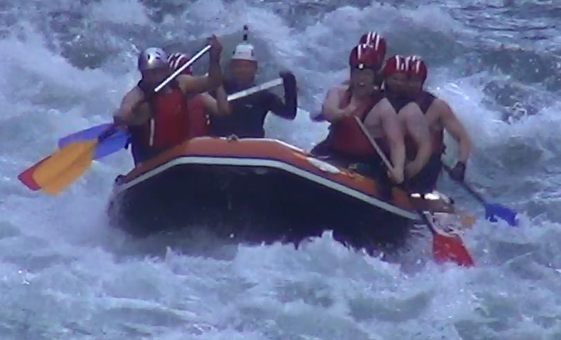 White water rafting OLTC 2016